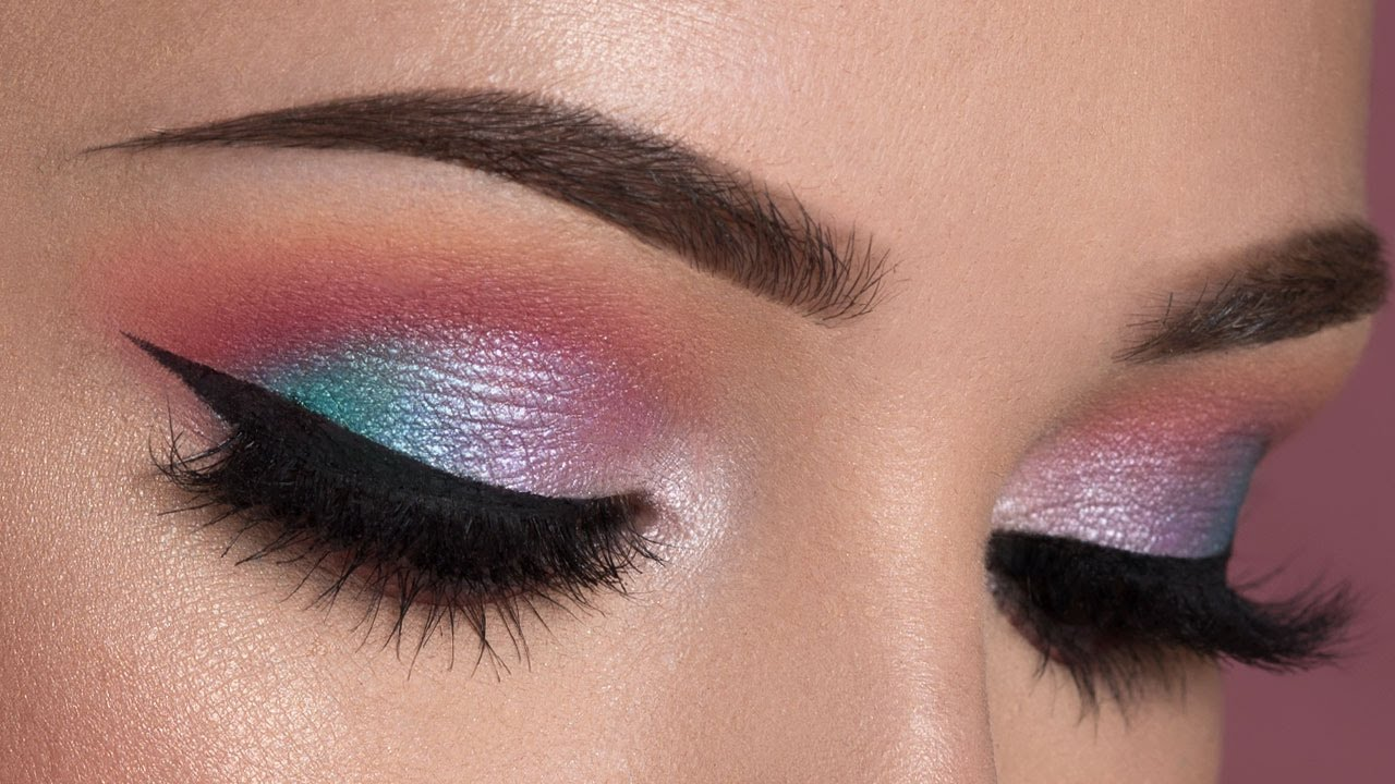 How to apply the secrets of makeup artists soft colorful smokey eye makeup tutorial baditri Images